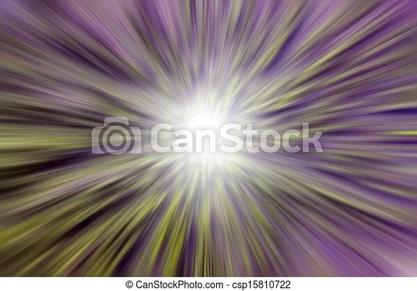 Farbige abstrakte Lichtstrahlen - csp15810722