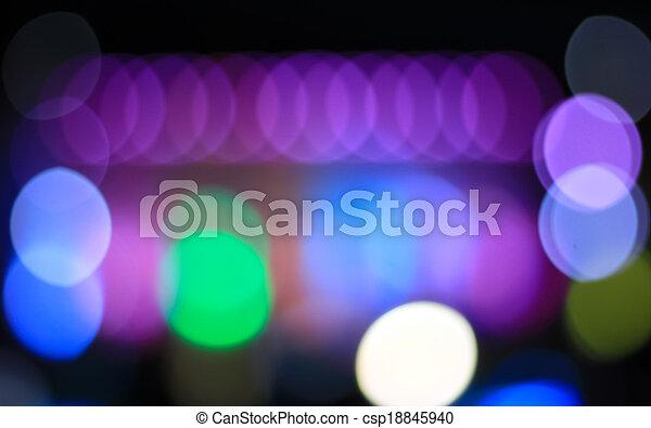 licht, bokeh, gemacht, hintergrund, bunte - csp18845940