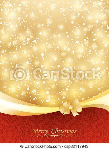 licht, boog, sterretjes, achtergrond onduidelijk - csp32117943
