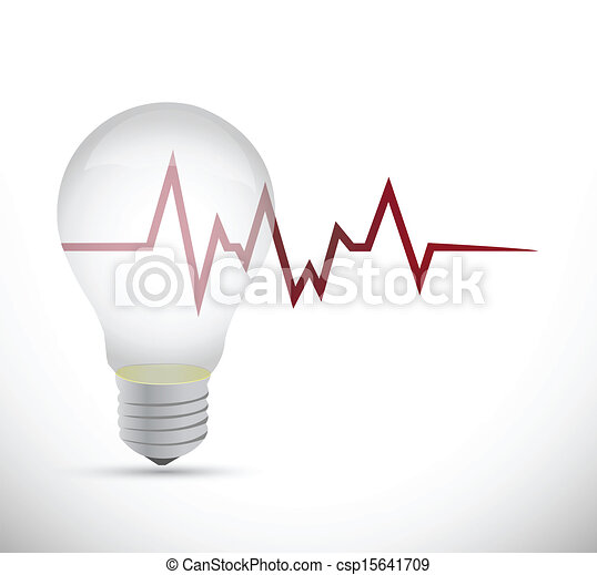 licht, energie, ontwerp, illustratie, bol - csp15641709