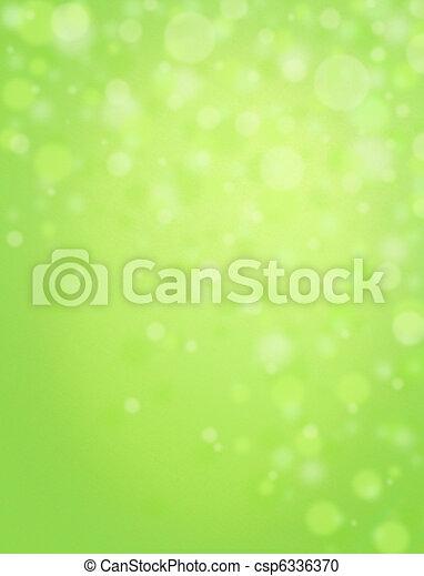 licht, groß, grüner hintergrund, spaß, gefüllt - csp6336370