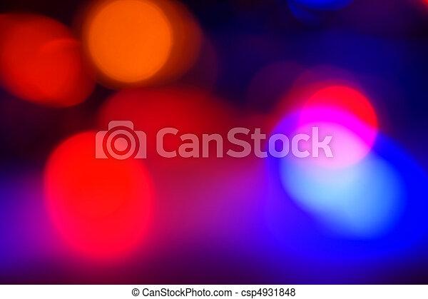 licht, heraus, fokus, weihnachten - csp4931848
