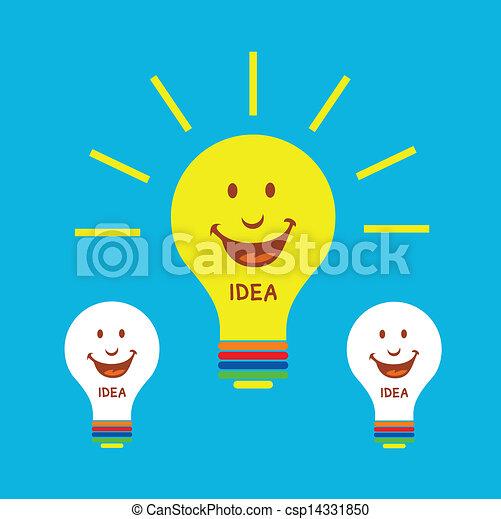licht, idee, bol - csp14331850