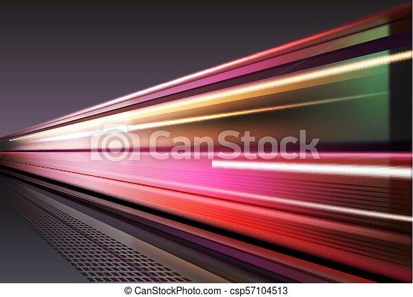 Licht auf lange Sicht - csp57104513