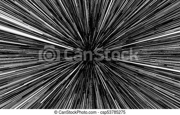 Hintergrund imitiert die Lichtgeschwindigkeit - csp53785275