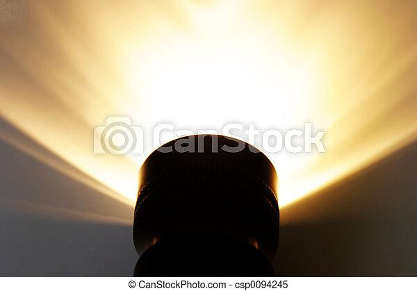 Strahlendes Licht - csp0094245