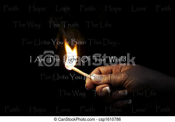 Licht der Welt - csp1610786