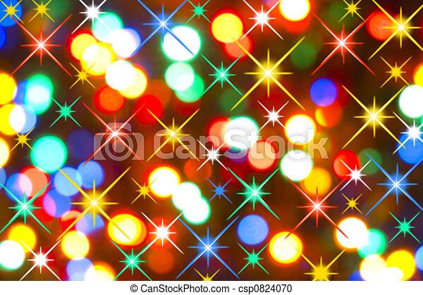 lichten, vakantie - csp0824070