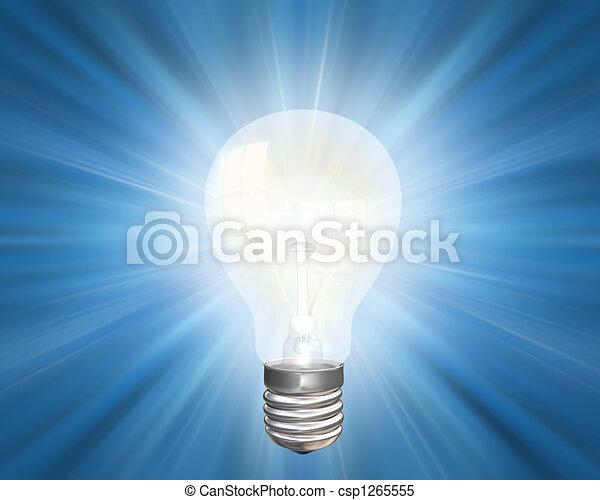lichtende voorstelling - csp1265555