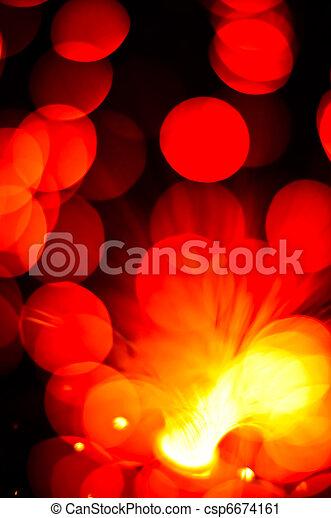 lichter, fokus, heraus - csp6674161
