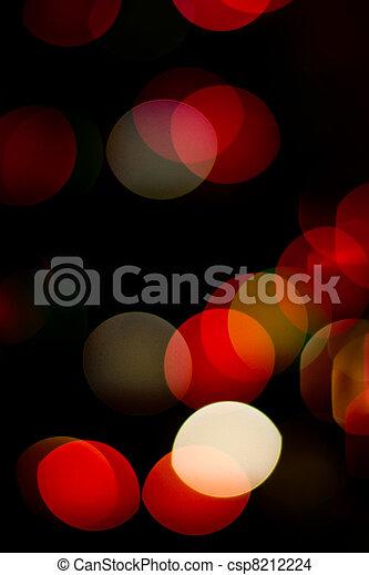 lichter, fokus, heraus - csp8212224