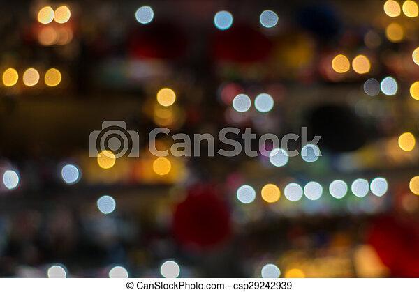 lichter, fokus, heraus - csp29242939