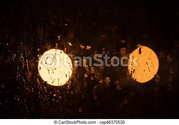 lichter, fokus, heraus - csp46370530