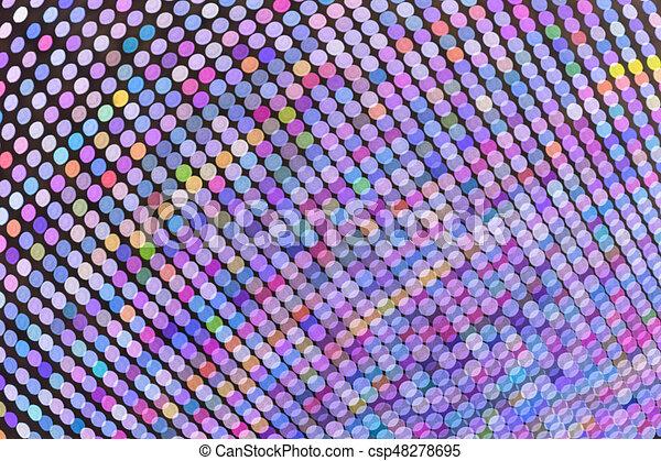 lichter, hell, fokus, heraus - csp48278695
