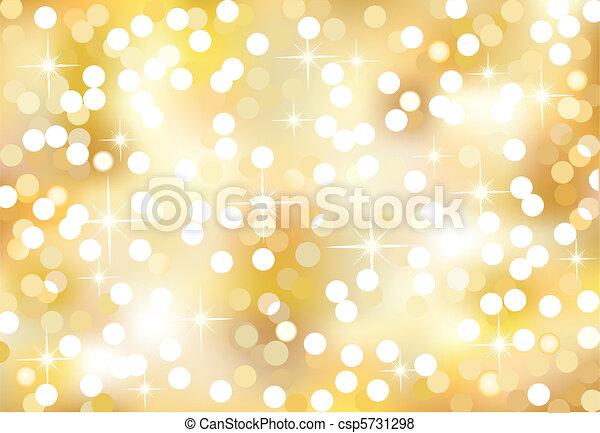lichter, weihnachten, funkeln - csp5731298