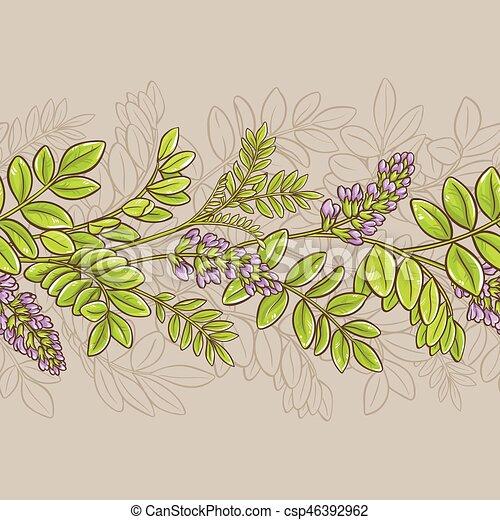 licorice seamless pattern - csp46392962