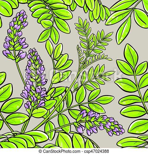 licorice seamless pattern - csp47024388
