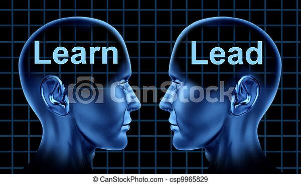 liderança, treinamento, negócio - csp9965829