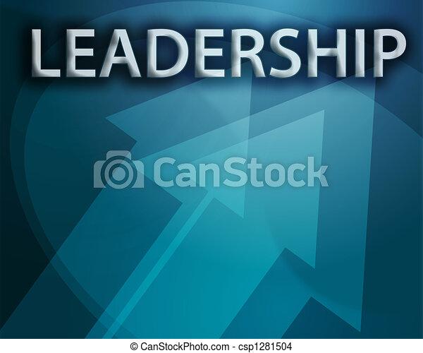 Ilustración de liderazgo - csp1281504