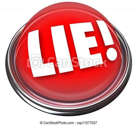 Lie Detector Flashing Red Light Alarm Polygraph Lying   Csp11577037