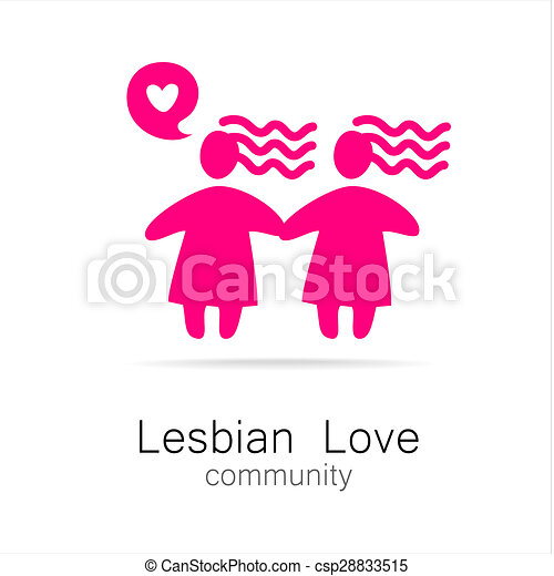 De lesbiennes van de liefde
