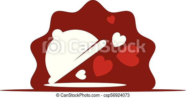 liefde, serveren - opdienen - csp56924073
