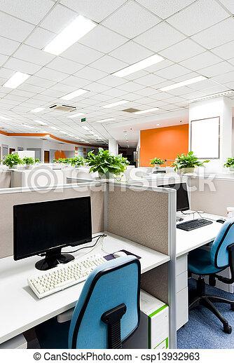 lieu travail, bureau - csp13932963