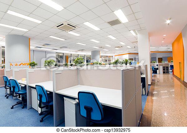 lieu travail, bureau - csp13932975