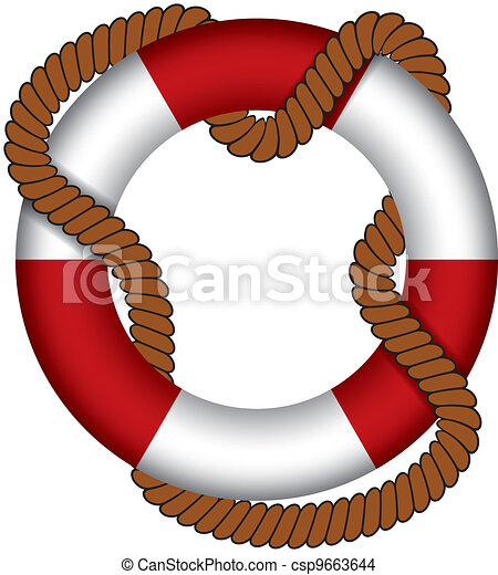 Life buoy - csp9663644