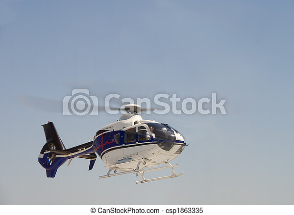 Life Flight Helecopter - csp1863335