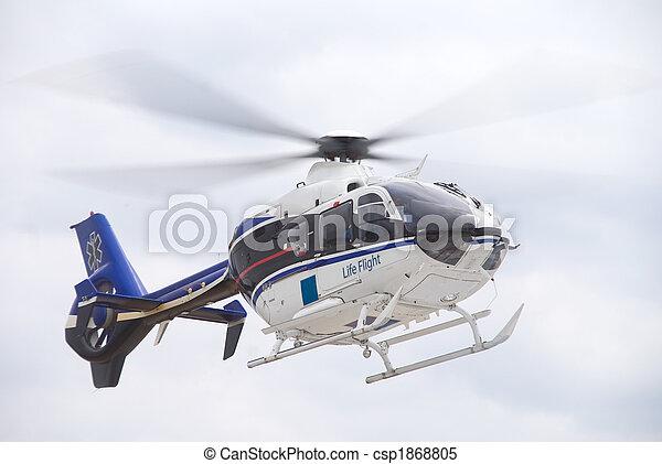 Life Flight Helecopter - csp1868805