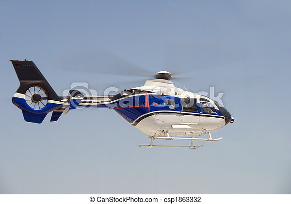 Life Flight Helecopter - csp1863332