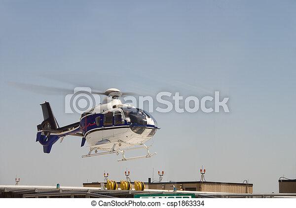 Life Flight Helecopter - csp1863334