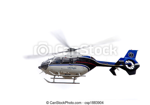 Life Flight Helecopter - csp1883904