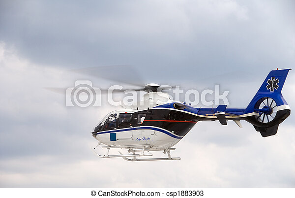 Life Flight Helecopter - csp1883903