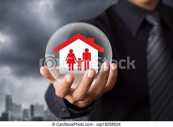 Life insurance concept - csp18258524