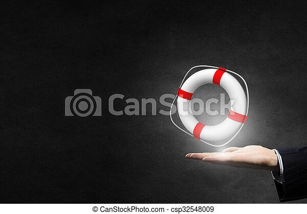 Life insurance concept - csp32548009