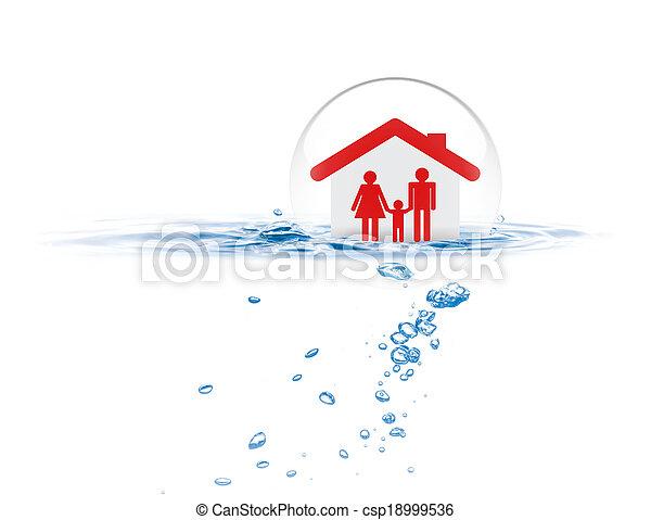 Life insurance concept - csp18999536
