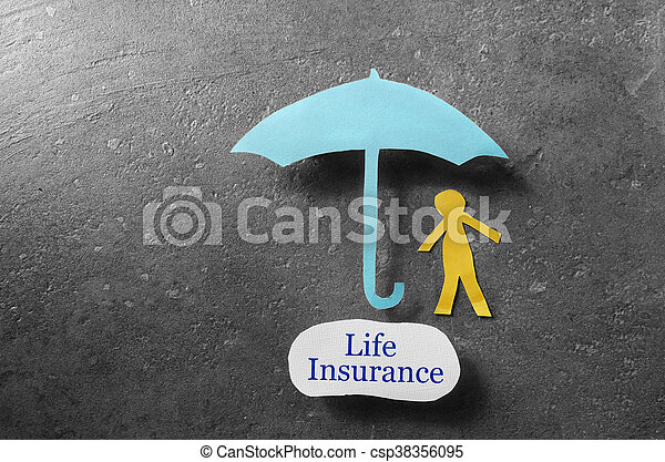 Life Insurance coverage - csp38356095