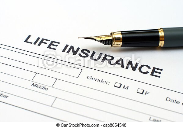 Life insurance - csp8654548