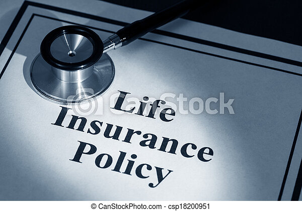 life insurance policy - csp18200951