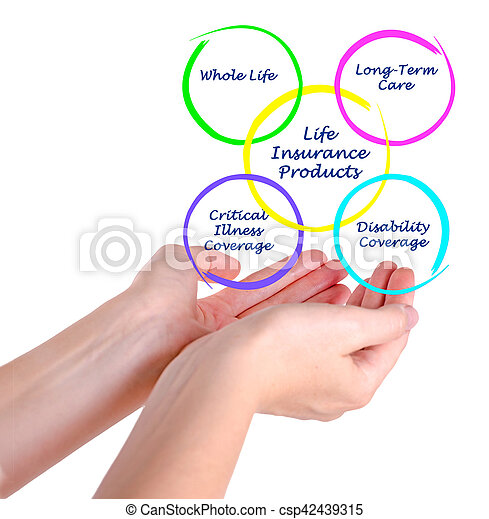 Life Insurance Products - csp42439315