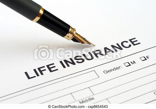 Life insurance - csp8654543