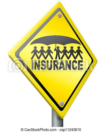 life or health insurance - csp11243610