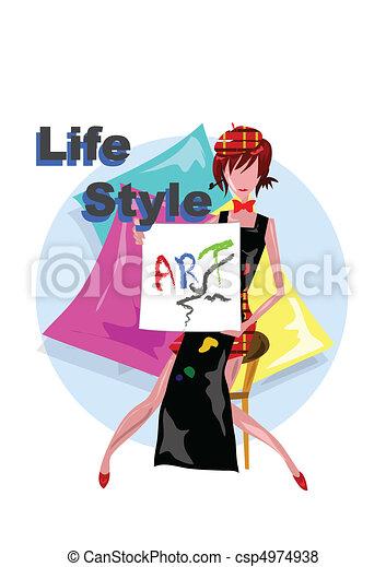 Life Style - csp4974938