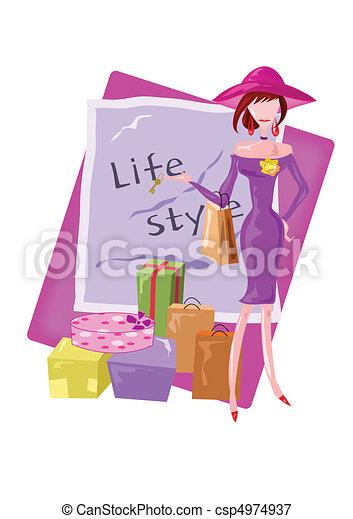 Life Style - csp4974937