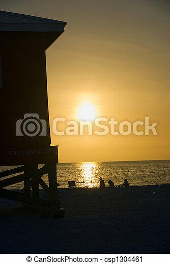 Lifeguard stand - csp1304461