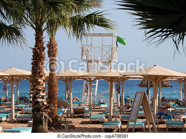 Lifeguard Stand - csp4708391