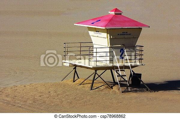 Lifeguard Stand - csp78968862