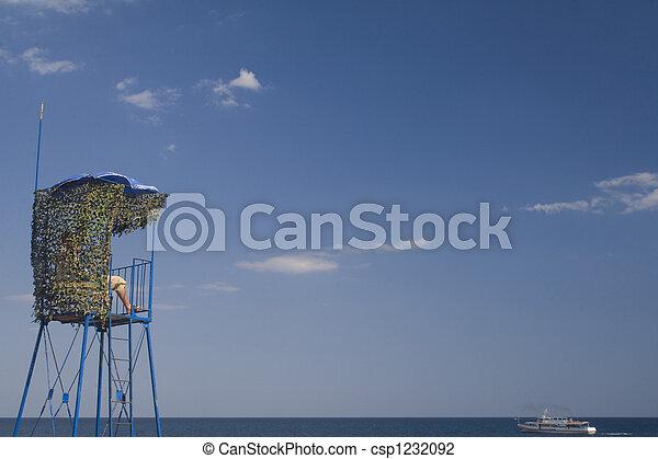 Lifeguard stand - csp1232092